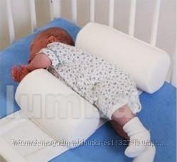 Ортопедическая подушка ограничитель-позиционер для детской кроватки ( махровый) ty i my фото №1