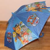 Красивые и яркие зонтики для мальчишек  Маквин и Щенячий патруль