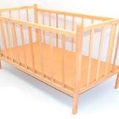 Кроватка деревянная №1-4