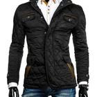 Куртка мужская весенняя стеганная ,весенняя мужская черная куртка