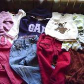 Пакет одежды на 1,5-2 годика-10 вещей