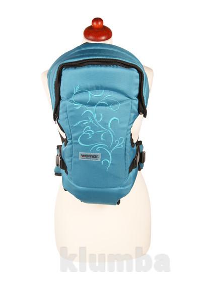 Рюкзак -переноска для детей rainbow n15 zaffiro womar ( польша) фото №8