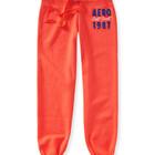 Супер теплые штанишки на флисе Aeropostale размер М коралловые