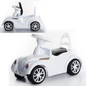 Машина бело-черная Ретро 900 Орион машинка толокар каталка