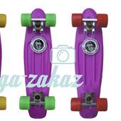 Скейтборд/скейт Penny Board (Пенни борд) Fish: Violet, до 80кг