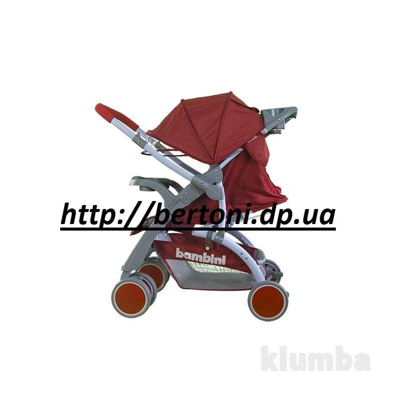 Детская прогулочная коляска bambini mars с перекидной ручкой фото №1