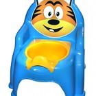 Детский горшок стульчик кресло со съемным резервуаром ТМ Смайлики
