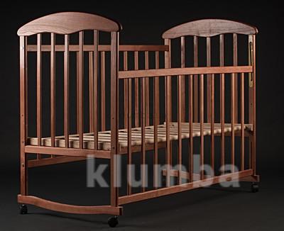 Кроватка-качалка деревянная фото №1