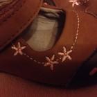 Кожанные брендовые туфельки Laura Ashley