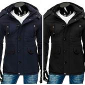 Пальто парка мужская на зиму