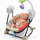 Укачивающий центр Fisher-Price Зоопарк spacesaver swing and seat luv u zoo