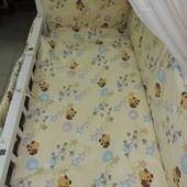 Детское постельное белье, комплекты (наборы) из 8 и 9 предметов!!! Украина!