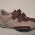 Кожаные кроссовки для девочки размер 27 - 16 см, код 140