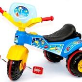 Детский трехколесный велосипед Sprint разные цвета