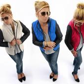 Стеганная женская куртка весенняя
