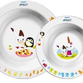 Детская посуда Philips Avent:тарелочки,наборы,ложки,поильники со склада.