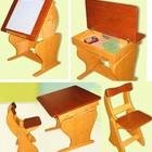 Парта растущая с пеналом, мольберт, стул в комплекте