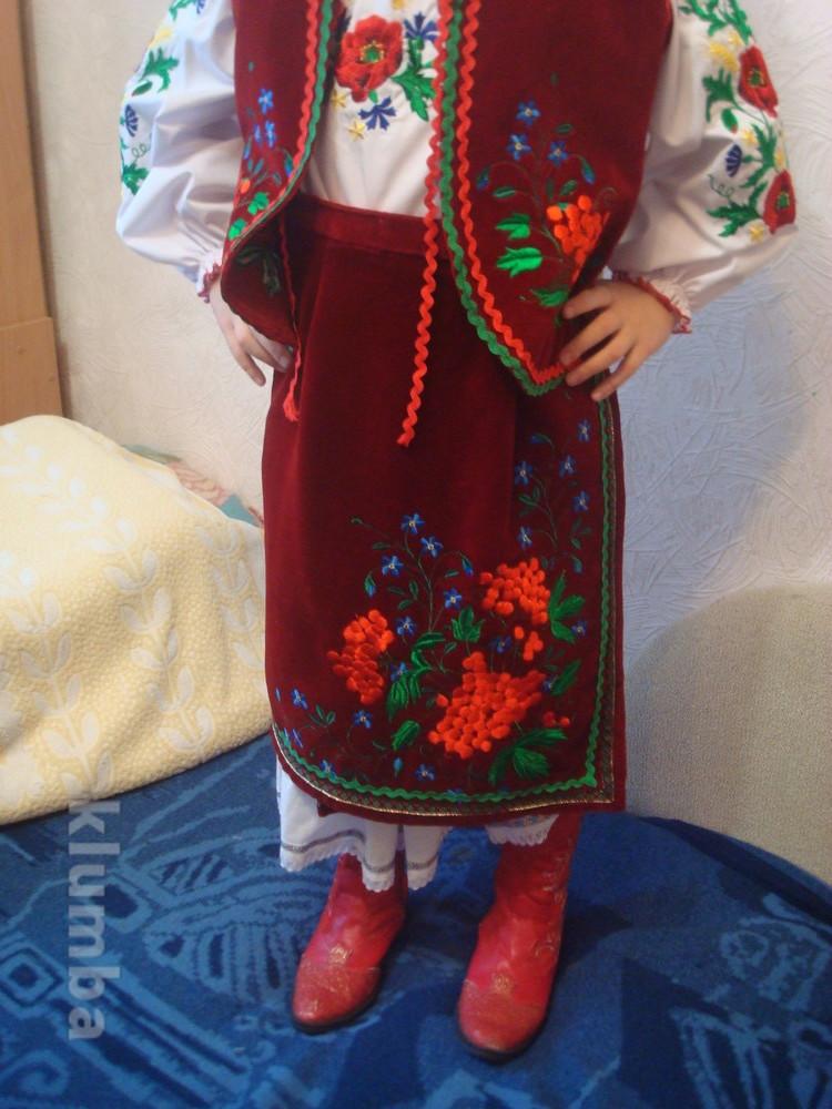 Костюм украинский национальный (прокат) р.128-150 фото №1