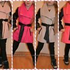 Стильное кашемировое пальто для юной модницы, в 4 цветах.