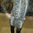 Элегантные платья-туники MONICA BELUCCI( змеиный и звериный принт) Италия