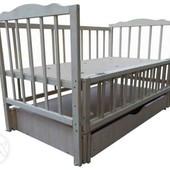 Кровать кроватка ліжечко детская Новая маятник ящик   со склада
