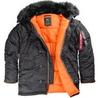 Куртка аляска Alpha Industries N-3B slim fit parka