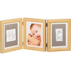 Baby art рамка тройная Double Print  Frame  natural