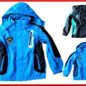 Весенняя куртка для мальчика 98 -134