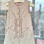 Стильное платье сарафан для девочки р-р 90 ( 2 года) Benetton