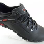 Туфли, ботинки Ecco, р.40-45, натур. кожа, выбор моделек, распродажа