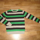 Трикотажный свитер New soul edition , размер XL  77 % хлопок, 23% акрил идеальное состояние  длина 6
