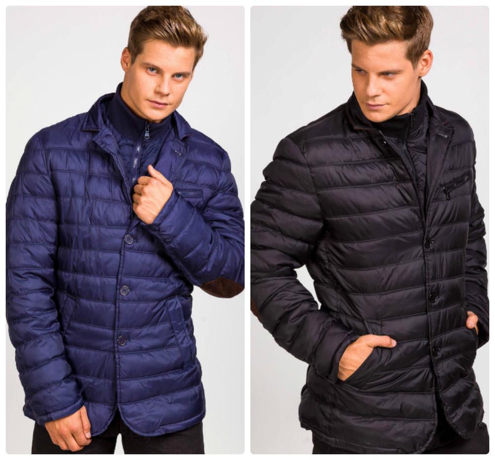 Мужская стеганая куртка пиджак фото №1