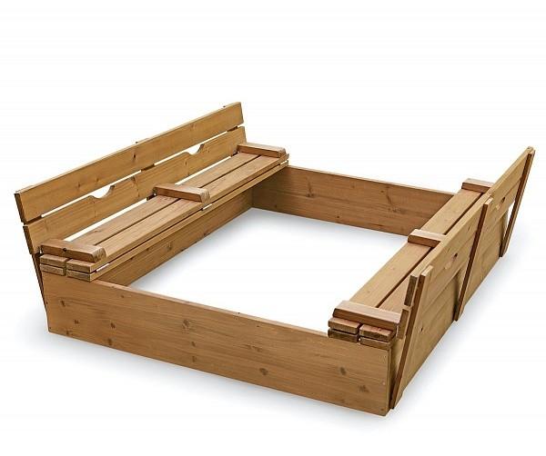 Песочница для детского сада (pes 3) фото №1