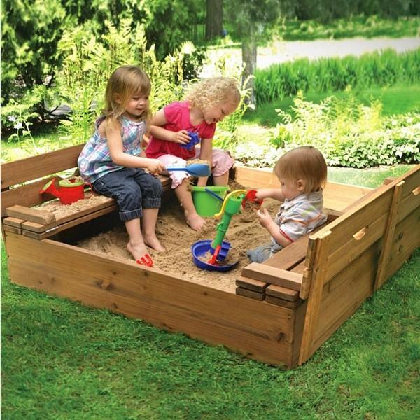 Песочница для детского сада (pes 3) фото №4