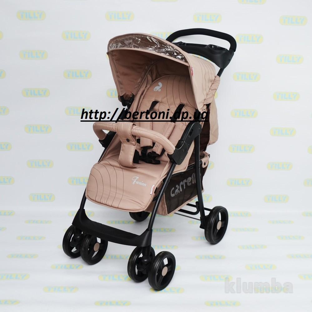 Детская прогулочная коляска carrello fusion фото №1