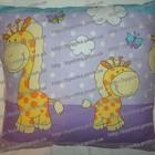Подушка детская цветная 38*38 см