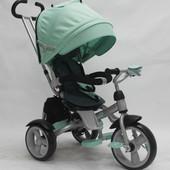 детский трехколесный велосипед сrosser т-503 eva Кроссер Т 503 ЕВА  колеса пена, поворотное сиденье