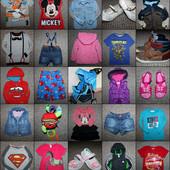 Детская одежда и обувь от 0 до 10 лет