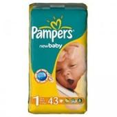 Підгузники Pampers Active baby 1-43шт