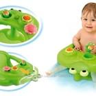 стульчик для купания SMOBY Жабка Cotoons с игровой панелью