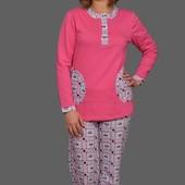 Теплая женская пижама есть выбор размеры от 40 до 58 включительно