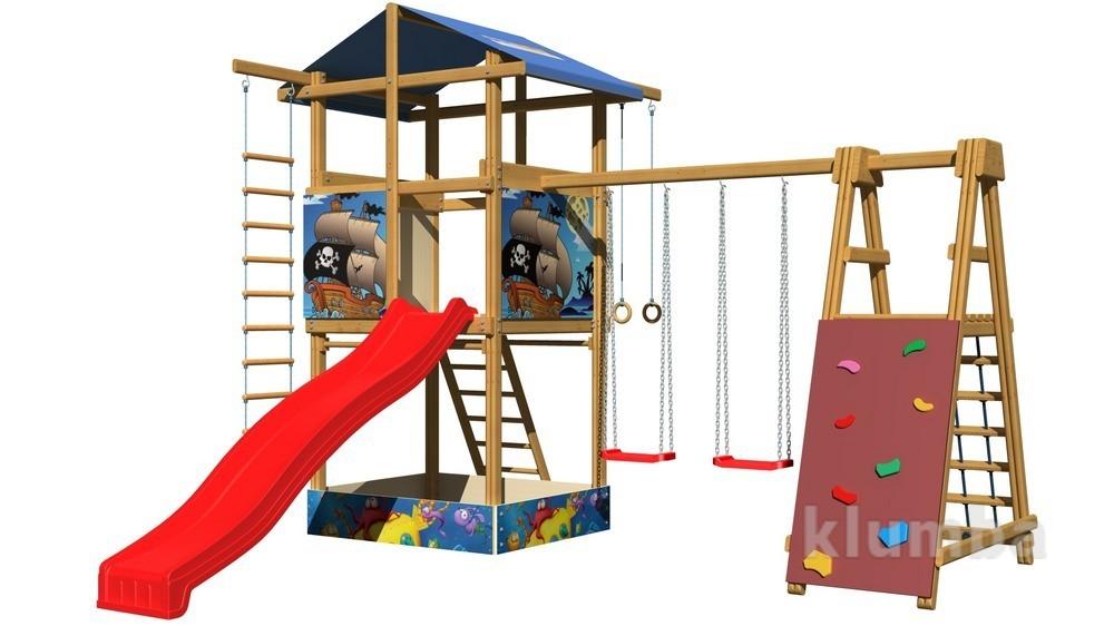 Детские деревянные игровые площадки SB-9 фото №1