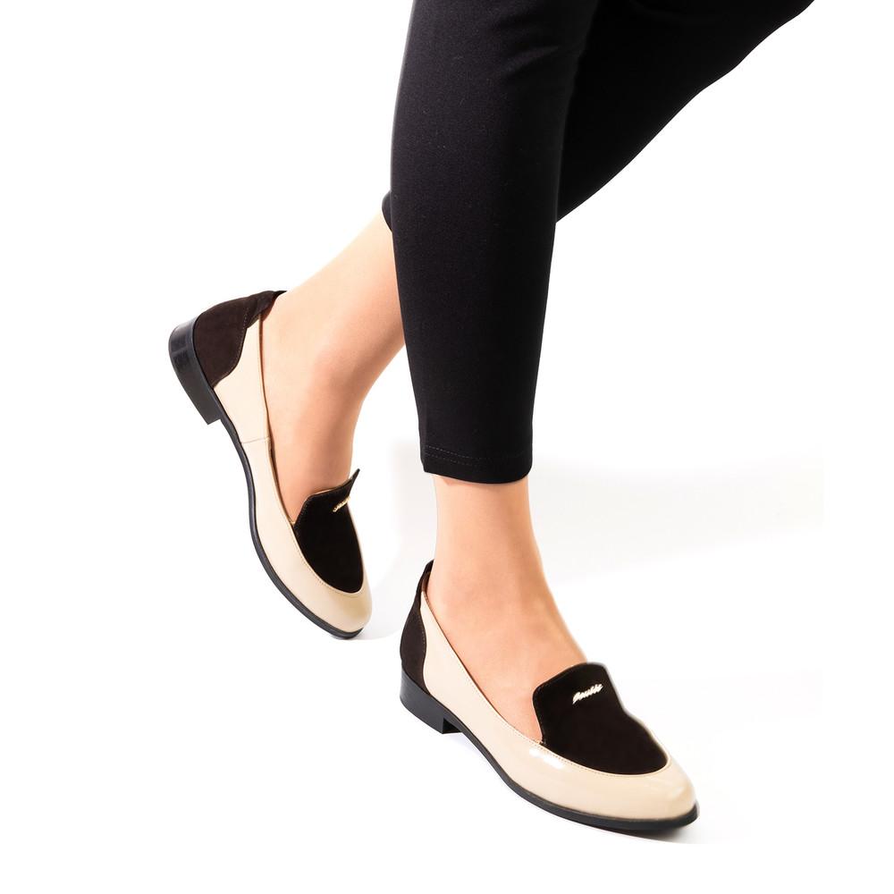 Туфли - лоферы кожаные полномерные. скидка фото №1