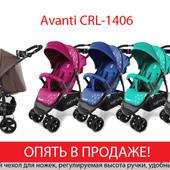 Яркая детская прогулочная коляска Carello Avanti crl-1406