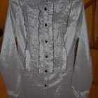 Рубашка в мелкую клеточку. Размер: 36