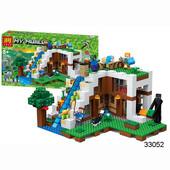 Леле Майнкрафт 33052 33053 конструктор Lele Minecraft My World
