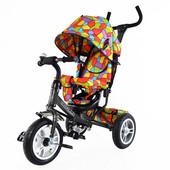 Тилли Трайк Мозаика T-351-1 детский трехколесный велосипед Tilly traike