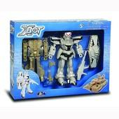 Игровой набор - Робот - трансформер (15 см), Танк (бежевый), воин