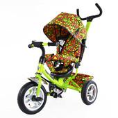 Тилли Трайк Яркая молекула T-351-4 детский трехколесный велосипед tilli trike