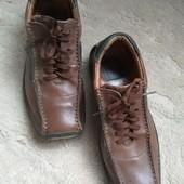 Туфли кожа  CUBE 40 р 26 см Германия